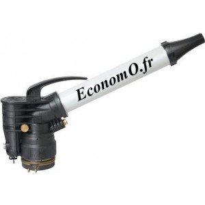 Canon Arroseur Perrot à Piston P2S Buse 14x5 à 24x5 mm de 15,87 à 60,68 m3/h Portée 32 à 55 m entre 4 et 8 bars - EconomO.fr