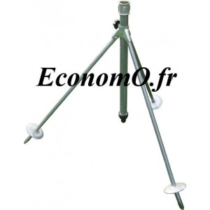 """Trepied Perrot 0CTR Réglable pour Arroseur Sprinkler 4 m3/h Mâle 1"""" (26 x 34) - EconomO.fr"""