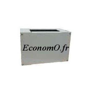 Socle Alu pour Coffret Polyester 430 x 200 x 350 mm - EconomO.fr