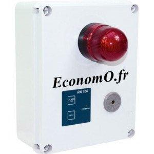 Coffret Autonome pour Alarme à Distance Mono 230 volts - EconomO.fr