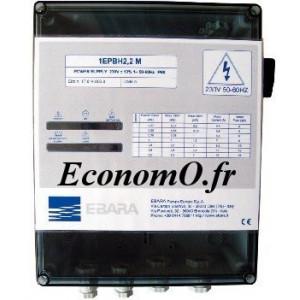 Coffret Électrique Ebara 1EPBH 1,5 T pour Pompe Immergée et Surface Tri 400 V - EconomO.fr