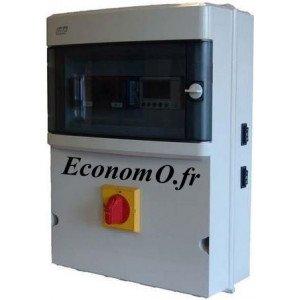Coffret de Commande et de Protection Flygt CPEM-XL Tri 0,75 kW pour 2 Pompes de Relevage Tri 400 V  - EconomO.fr
