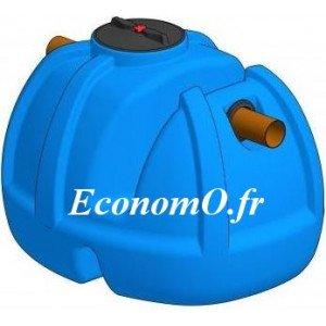 Séparateur de Graisse et Fécules Aérien 380 Litres pour 17 à 21 Habitants - EconomO.fr