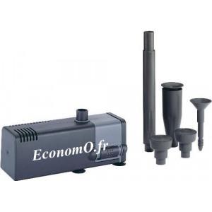 Pompe Fontaine Intérieure MICROPOND de 0,1 à 0,5 m3/h entre 0,6 et 0,1 m HMT Mono 230 V 5,5 W - EconomO.fr - EconomO.fr