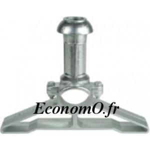 Petit Hydrant Aluminium avec Collier Galvanisé et Clapet Automatique Ø 80 mm - EconomO.fr