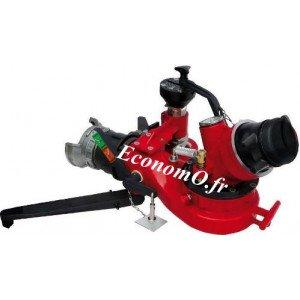 """Canon Portable r.pons COMPACTOR 2000 l/mn 6 bar à Commande Manuelle GOST 80 x 2""""1/2 M - EconomO.fr"""