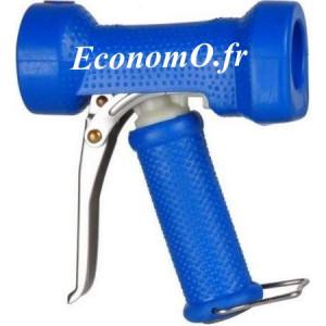 """Pistolet de Lavage PVC Revêtement EPDM Bleu Léger 50°C 12 bar 1/2"""" (15 x 21) - EconomO.fr"""