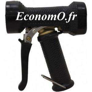 """Pistolet de Lavage Laiton Revêtement EPDM Noir Grand Débit 95°C 24 bar 1/2"""" (15 x 21) - EconomO.fr"""