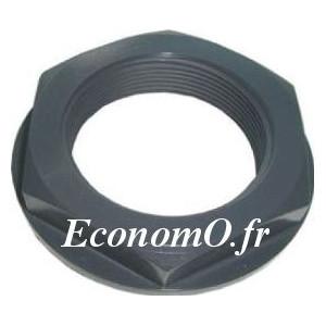 "Écrou PVC Pression 1""1/2 (40 x 49) - EconomO.fr"