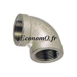 "Coude Egal Femelle Femelle Inox 316L 1""1/4 (33 x 42) - EconomO.fr"