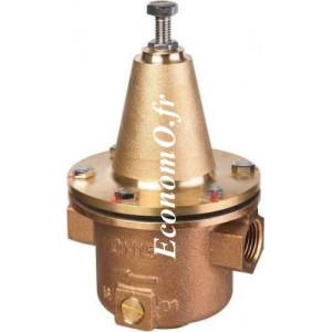 """Réducteur de Pression Desbordes Bronze 10 BIS BZ Réglable de 1 à 6 bars 1""""1/2 (40 x 49) Femelle Femelle - EconomO.fr"""