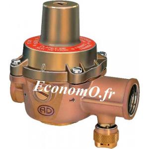 """Réducteur de Pression Desbordes 12 BIS SR Réglable de 1 à 5,5 bars 3/4"""" (20 x 27) Femelle Femelle - EconomO.fr"""