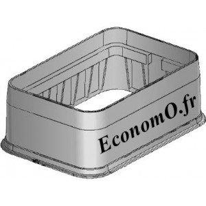 Réhausse pour Regard Standard en Polypropylène - EconomO.fr