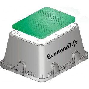 Regard Maxi en Polypropylène Lg 640 x L 500 x h 300 - EconomO.fr
