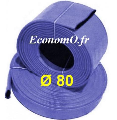 PU Clair Flexible Conduits Tuyau 80 mm Diamètre x 500 mm long