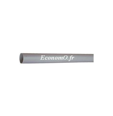 Tube Pvc évacuation D 63 Longueur 4 M Premanchonné