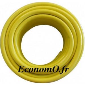 Tuyau d'Arrosage PVC à Usage Professionnel Ø 19 mm 50 m PS 13 bar PLNE 26 bar - EconomO.fr