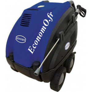 Nettoyeur Haute Pression Renson Eau Chaude 150 bars à 0,66 m3/h max Mono 230 V 3,2 kW - EconomO.fr