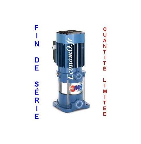 Destockage Pompe de Surface Pedrollo Multicellulaire Verticale MK 5/8 de 1,2 à 7,2 m3/h entre 99 et 40 m HMT Tri 230/400 V 2,2 k