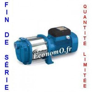 Destockage Pompe de Surface Pedrollo Multicellulaire PLURIJET 5/90m de 0,3 à 4,8 m3/h entre 76 et 33 m HMT Mono 220-230 V 1,1 kW