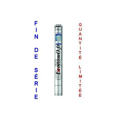 """Destockage Pompe Immergée Pedrollo 4""""SR4/9-P de 1,2 à 6 m3/h entre 56 et 23 m HMT Tri 400 V 0,75 kW - EconomO.fr"""