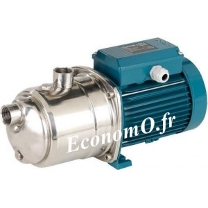 Pompe de Surface Calpeda NGXM 2-80 Inox 0,3 à 3,2 m3/h entre 43 et 19,1 m HMT Mono 230 V 0,55 kW - EconomO.fr