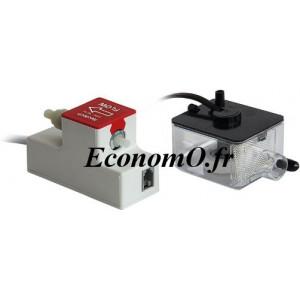 Pompe pour Condensat Calpeda NTH 10.1 de 0,12 à 0,6 m3/h entre 15 et 1 m HMT Mono 230 V 11 W - EconomO.fr
