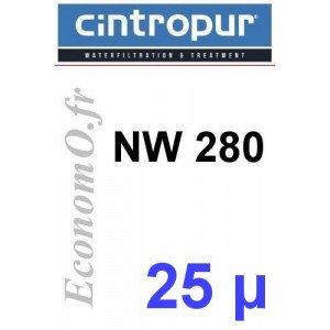 Sachet de 5 Tamis Filtrant 25 microns pour NW 280 - EconomO.fr