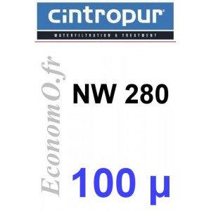 Sachet de 5 Tamis Filtrant 100 microns pour NW 280 - EconomO.fr