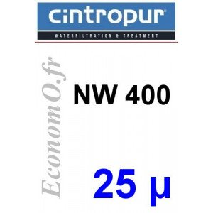 Sachet de 5 Tamis Filtrant 25 microns pour NW 400 - EconomO.fr