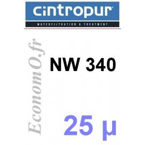 Sachet de 5 Tamis Filtrant 25 microns pour NW 340 - EconomO.fr