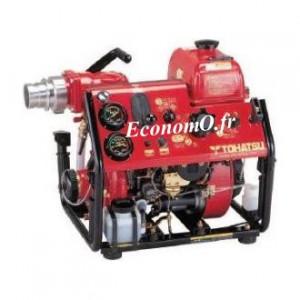 Motopompe Incendie Tsurumi V20FS de 6 à 40 m3/h entre 85 et 45 m HMT Tohatsu Essence - EconomO.fr