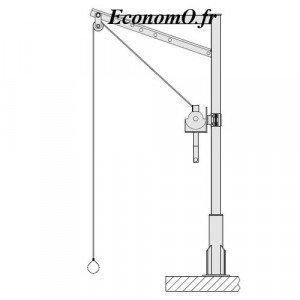 Potence de Levage TSP150 Inox 304