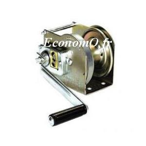 Treuil KGTL 270 avec 19m de câble Inox (CMU 270kg) (à utiliser avec potences PTG 120 et PTG 360)