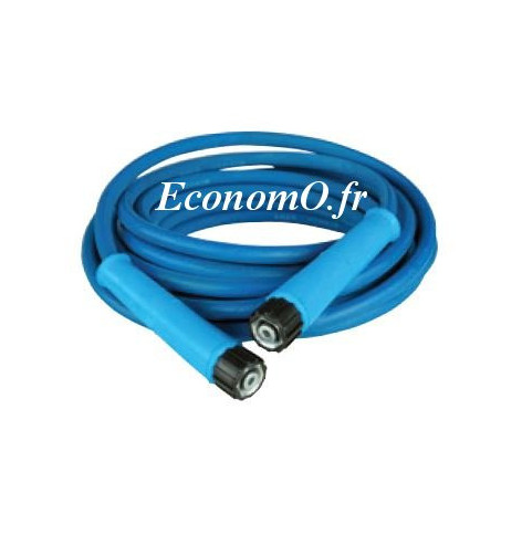 Flexible 5/16 - 20 m Bleu Anti-Traces 250 bars - EconomO.fr