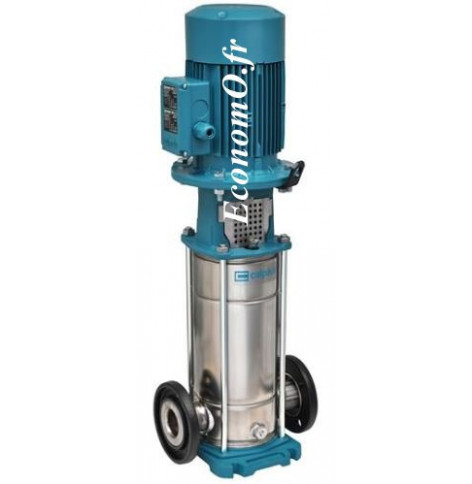 Pompe de Surface Calpeda MXV 50-1502 de 8 à 24 m3/h entre 24,6 et 9,5 m HMT Tri 400 V 1,5 kW