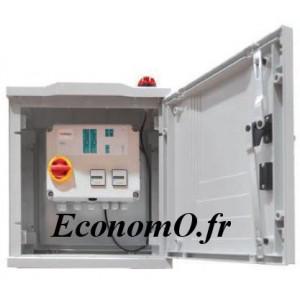 Armoire de Commande et de Protection Pedrollo 2 Pompes V2B-E - EXT 16 A pour Installation Extérieure