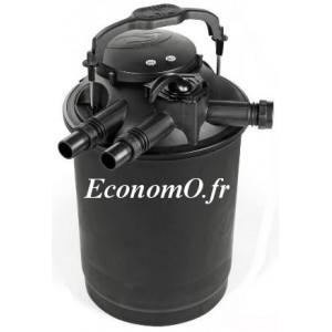 Filtre Pressurisé GREEN RESET R40 L pour Bassin jusqu'à 18000 L Lampe UV 20 W - EconomO.fr