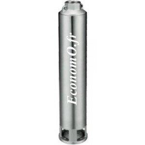 """Hydraulique de Pompe Immergée 4"""" Speroni SP 50 10 Noryl de 1,2 à 3 m3/h entre 63 et 29 m HMT pour Moteur 0,55 kW - EconomO.fr"""