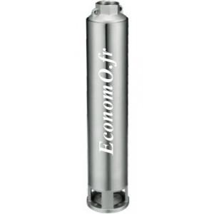 """Hydraulique de Pompe Immergée 4"""" Speroni SP 100 09 Noryl de 1,2 à 6 m3/h entre 56 et 10 m HMT pour Moteur 0,75 kW - EconomO.fr"""