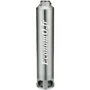 """Hydraulique de Pompe Immergée 4"""" Speroni SP 100 35 Noryl de 1,2 à 6 m3/h entre 219 et 50 m HMT pour Moteur 3 kW - EconomO.fr"""
