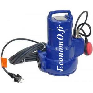 Pompe de Relevage KSB AMA PORTER F 501 SE de 5 à 20 m3/h entre 10,5 et 4 m HMT Mono 230 V 1,1 kW - EconomO.fr