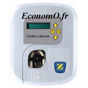 Pompe Doseuse Régulation Chlore Zodiac CHLOR CLEVER 1,5 l/h pour Bassin 150 m3 - EconomO.fr