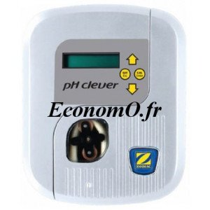 Pompe Doseuse Régulation PH Zodiac PH CLEVER 1,5 l/h pour Bassin 150 m3 - EconomO.fr
