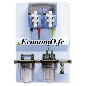 Panneau de Régulation pH et REDOX Emec WDPHRX 6 l/h à 7 bar - EconomO.fr