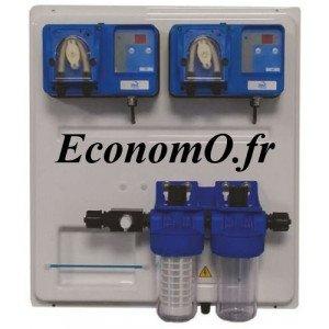 Panneau de Régulation Ph et Redox AquaPrimo AQUAPRIMOPHRX 1,5 l/h - EconomO.fr