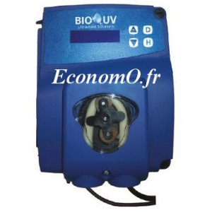 Pompe Doseuse Régulation PH BIO-UV pH 1,5 à 5 l/h 1,5 bar - EconomO.fr