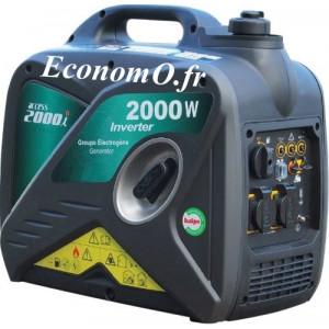 Groupe Électrogène ACCESS 2000 i + DIFF Insonorisé Essence Monophasé 2,5 kVA 2 kW - EconomO.fr