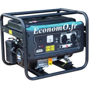 Groupe Électrogène ACCESS 2200 XL Essence Monophasé 2,7 kVA 2,2 kW - EconomO.fr