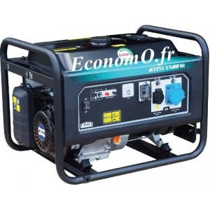 Groupe Électrogène ACCESS 5500 XL Essence Monophasé 6,9 kVA 5,5 kW - EconomO.fr